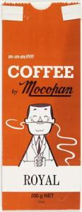 Paper Bag, Mocopan Selected Blend Coffee [Museum Victoria]