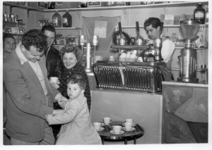 Varrenti's Elgin Street cafe, June 1954 [Italian Historical Society]
